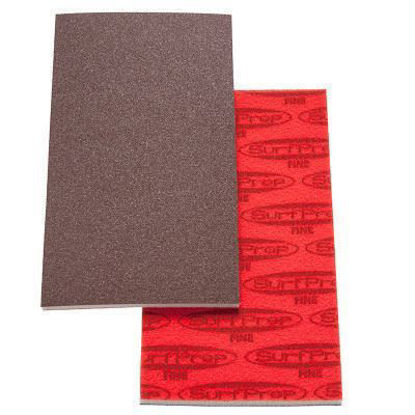 "Picture of 3 2/3"" X 7"" Premium Red A/O Foam Pads"