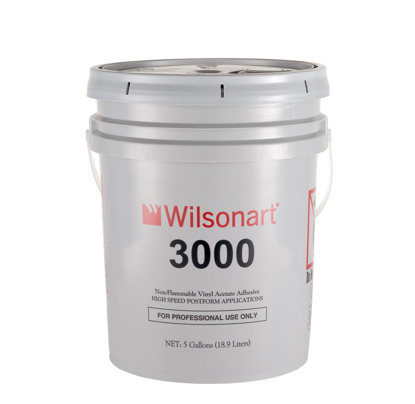 Picture of 5 Gal Pail Wilsonart 3000 Post-forming and Pinch Roller EVA Adhesive