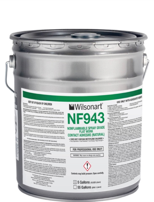 Picture of NF943 Wilsonart NonFlammable Spray-Grade (Natural) - 5 Gal. Pail