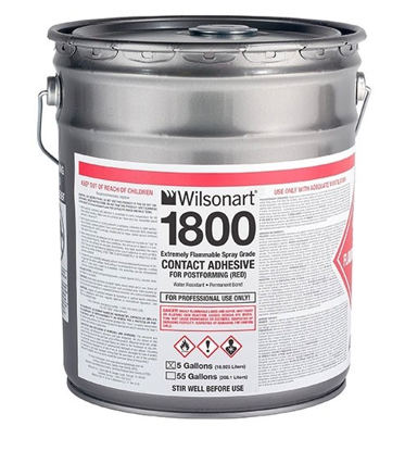 Picture of Wilsonart 1800/1801 OTC Compliant Postforming Spray-Grade Contact Adhesive