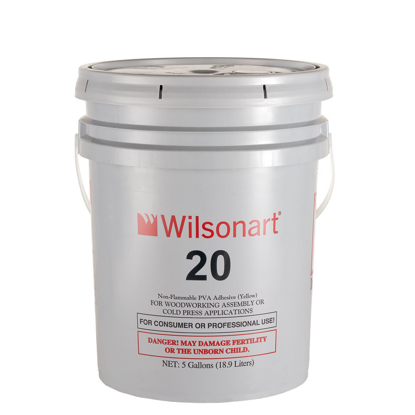 Picture of Wilsonart 20 PVA Yellow Assembly and Cold Press Adhesive PL