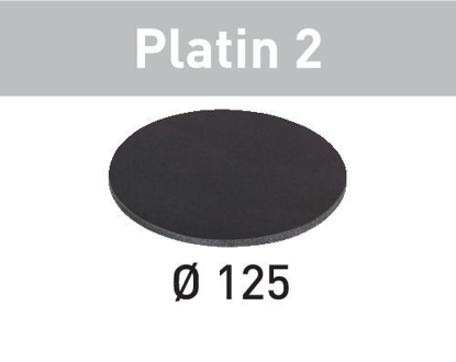 Picture of Abrasive sheet Platin 2 STF D125/0 S2000 PL2/15