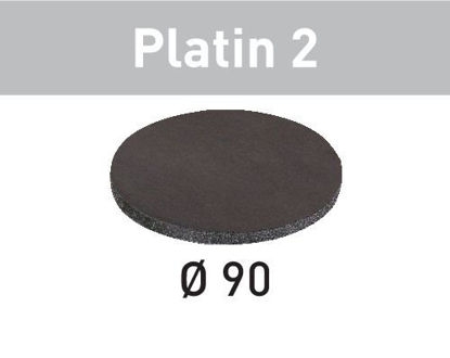 Picture of Abrasive sheet Platin 2 STF D 90/0 S500 PL2/15