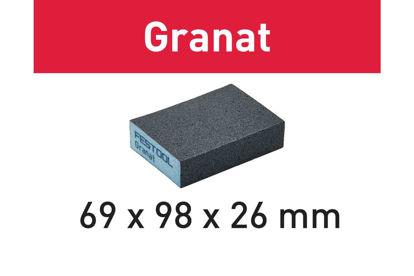 Picture of Abrasive sponge Granat 69x98x26 60 GR/6