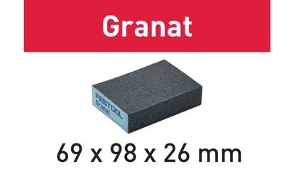 Picture of Abrasive sponge Granat 69x98x26 220 GR/6