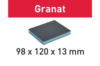 Picture of Abrasive sponge Granat 98x120x13 220 GR/6
