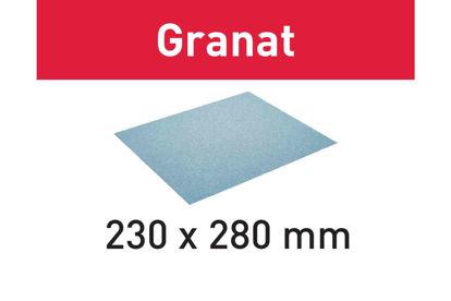 Picture of Abrasive paper Granat 230x280 P180 GR/10