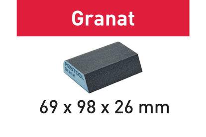 Picture of Abrasive sponge Granat 69x98x26 120 CO GR/6