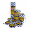 """Picture of 6-1/2"""" x 50ft SPEED TAPE"""