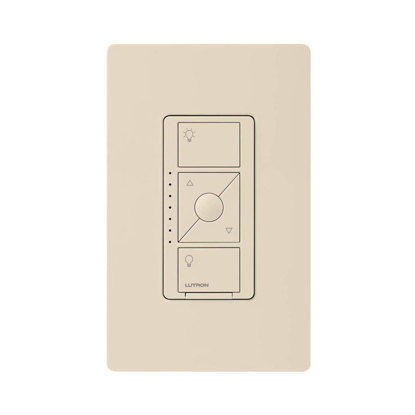 Picture of In-Wall Smart Dimmer Switch for ELV+ Lighting - Light Almond